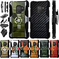 For Samsung Galaxy S9/ S9 Plus/S8 S7 Note 8 Holster Phone Case Cover Luxguard J0