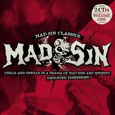 MAD SIN - CHILLS AND THRILLS/DISTORTED DIMENSIONS  2 CD NEU