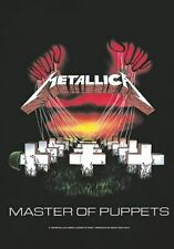 Metallica Poster Master of Puppets Official Textile 75cm X 110cm