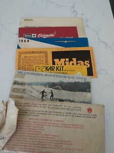 FORD Thunderbird owners manual(s) 1962, 1966 and 1969 USED