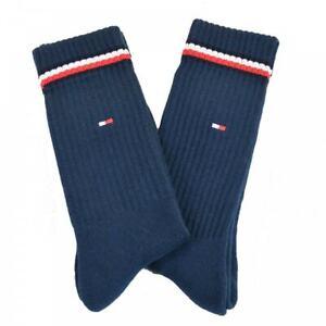 TOMMY HILFIGER Mens Iconic 2pkt Socks (Dark Navy)
