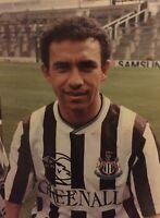 Signed Mirandinha Rare Newcastle United Photo 16 X 12