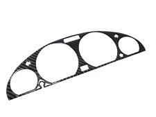 De carbono real velocímetro diafragma velocímetro diafragma para bmw e46