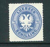 Altdeutschland Lübeck Mi-Nr. 11 - Faksimile