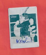 2013 Heritage Minors Max Kepler Autographed Cyan Printing Plate - #1/1 - Twins