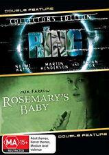 The Ring / Rosemarys Baby - NEW DVD