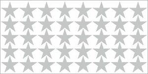 40 STARs star decal sticker vinyl art wall decoration car bike home