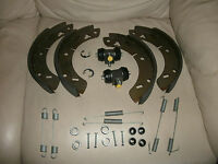 """MGB CONVERT W WHEEL CYLINDERS, BRAKE SHOES  """"ALL"""" SPRINGS & HOLD DOWNS 1962-1980"""