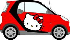 HELLO Kitty Adesivo Auto Mini Smart Auto Decalcomanie