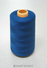 1 SPOOL DUSK BLUE 100%  POLYESTER SERGER QUILTING THREAD T27 6000 YARDS #792