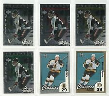 Andy Hilbert 10 Cards Upper Deck Hockey Exclusives Gold Black Diamond #/50 #/75