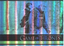 Games Of Thrones Season 2 Foil Parallel Base Card # 19 A Man Without Honor