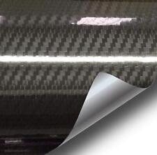 Epoxy High Gloss Black Carbon fiber Vinyl Automotive Car Wrap Film DIY  1ftx5ft