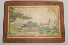Lyons California Glace Fruits Collector Wood Box Mission San Carlos Carmel Calif