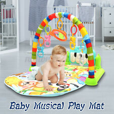 Infant Baby Kid Playmat Musical Piano Activity Fitness Toddler Play Mat Toy