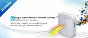 Tenda A5 150Mbps Travel Wireless N WiFi Hotspot Extender Repeater Router