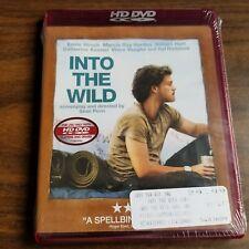 Into the Wild (HD DVD, 2008) Sean Penn Krakauer Chris McCandless Alex Supertramp
