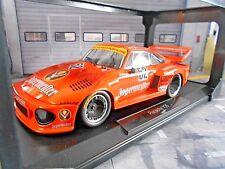 PORSCHE 935 Turbo #52 Schurti Jägermeister Max Moritz DRM 1977 Zolder Norev 1:18