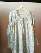 Pretty Floral Vintage Cotton Nightdress Small/Medium Long G. C Orvis