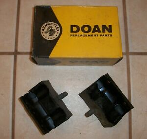 PAIR 1959-1962 FORD MERCURY EDSEL 6 Cyl Front Motor Mounts B9A-6038A 1960 1961