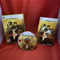 Resident Evil 5 -- Gold Edition (Microsoft Xbox 360, 2010) Free Uk P&p Complete