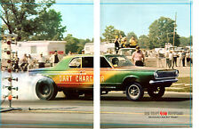 1965 DODGE HEMI DART CHARGER / DICK BRANSTNER ~ ORIGINAL 2-PAGE MAGAZINE PHOTO