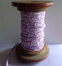 3yds cinta de bies ribete de algodón de punto doble 10mm color sólido sesgo Doble Pliegue