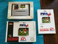 Fifa Soccer 96 Pal EUR Snes Tested & working Boxato Completo Cib