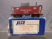 HO SCALE BRASS ALCO MODELS PENNSYLVANIA N6-A CABOOSE PAINTED