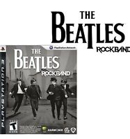 The Beatles Rock Band Sony PlayStation 3 Guitar Hero  Game 2009 Tested Preowned