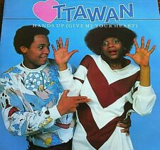 """Vinyl Record Ottawan Hands Up Music EP 12"""" 45 RPM Dance Electronica Record Play"""