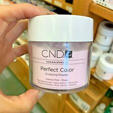 CND Perfect Color INTENSE PINK Sheer 3.7 oz Sculpting Powder