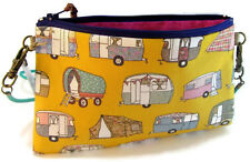 NEW Retro Caravan pouch bag wristlet purse handmade in Australia HORSEFLY