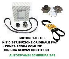 KIT DISTRIBUZIONE + POMPA ACQUA + SERVIZI FIAT CROMA ALFA ROMEO 159 1.9 JTDM