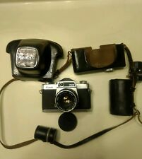 Kowa SE camera with strap and accessories vintage