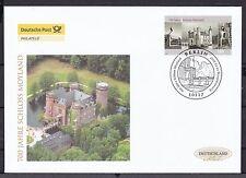 BRD 2007 Deutsche Post FDC MiNr. 2602  700 Jahre Schloss Moyland, Bedburg-Hau