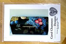 CAROL CHAMNESS DECORATIVE PAINTING PATTERN PAK -#502 - FRUIT ON TRUNK