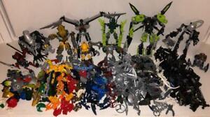 Lego Bionicle~HTF Pieces~Bricks Toys Building Parts~Bulk Lot+Hero Factory