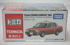 Takara Tomy Tomica Toyota Crown Comfort Taxicab Hong Kong Urban Red Taxi Model