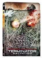 Terminator Salvation blu ray Steelbook ( KIMCHI - Korea ) ( NEW ) English Audio