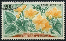 Congo 1961 SG#10, 200f Flowers, Air Used #D35367