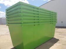 skip bin for sale 4m3 marrel waste bin