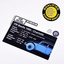 CUSTOM sticker for LEGO 10187 Volkswagen Beetle, Premium quality