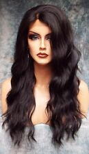Lace Front Wig Hot New Fashion Sexy Women's Long Blacks Wavy Nature Full Wigs