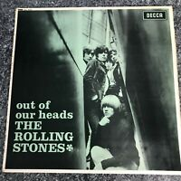 LP VINYL THE ROLLING STONES OUT OF OUR HEADS UK PRESS DECCA SKL.4733 1970 EX/EX