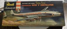 VINTAGE REVELL LOCKHEED SUPER G CONSTELLATION [EASTERN AIRLINES] 1/128 + BONUS
