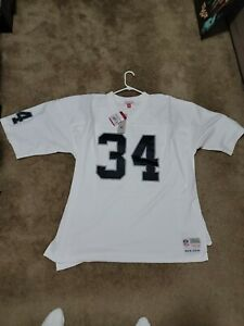 Bo Jackson 1998 Los Angeles Raiders Mitchell & Ness Road White Legacy Jersey 3xl