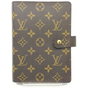 Louis Vuitton Diary Cover Agenda GMR20106 Browns Monogram 1515339
