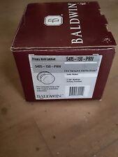 Baldwin Images 5405 150 PRIV Classic Round Knob Privacy Lock Satin Nicke