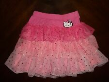 Hello Kitty Children Kids Girl Tutu Fluffy Layer Skirt Pink Large 10/12